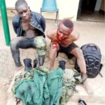 Two Fake Soldiers Arrested In Ogun