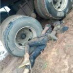 Graphic Photos Of Two Policeman Who Died In Oshiomhole's Convoy Accident