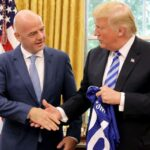 FIFA head visits White House amid corruption investigation in Switzerland