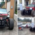 See The Powerful Car Constructed By Brilliant Nigerian Engineers