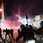 Protesters in Italy clash with police over measures to stop Covid-19 spread