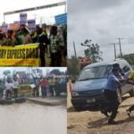 Police arrest 'Fix Badagry-Lagos Road' protesters (photos)