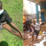 Police arrest 11 year old boy who allegedly attacked a police station and declared himself IGP in Edo state (photos)
