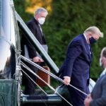 Trump transferred to Walter Reed hospital after Covid-19 diagnosis