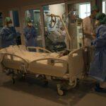 Belgium overtakes April's hospitalisation peak