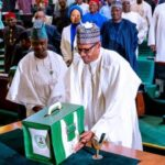 President Buhari Presents 2021 Budget To The National Assembly(Pictures And Video)