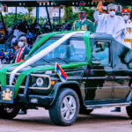 Buhari Presides Over Low-Key 60th Anniversary At Eagle Square