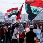 Iraq protesters, police clash again one year after uprising started