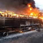 6 killed as two fuel tankers explode in Niger State (Graphic photos)