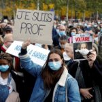 Additional police operations under way over beheading of French teacher