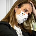 Belgian minister Sophie Wilmès tests positive for Covid-19