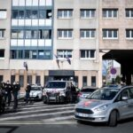 Police station outside Paris targeted in fireworks attack