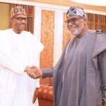 Ondo 2020: Buhari Reacts To Akeredolu's Re-Election