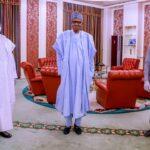 President Buhari Meets Lawan, Gbajabiamila