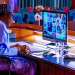 Buhari In Video Meeting With European Council President Over Okonjo Iweala