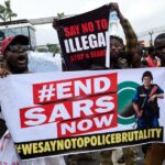 #EndSARS: Police Station, Court Building Destroyed As Thugs Riot In Benin