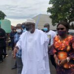 #OndoDecides2020: Akeredolu's Wife Injured As Security Details Storm Owo