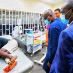 Lekki Shooting: Sanwo-Olu Visits 28 Injured #EndSARS Protesters Taken To Hospital (Photos)