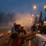Police disperse #EndSARS protesters from Force Hqts