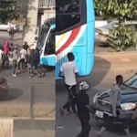 VIDEO: Again, Hoodlums Attack #EndSARS Peaceful Protesters With Machetes In Lagos