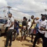 #EndSARS Protesters Block Major Roads In Ilorin (Photos)