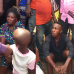 Man and lady who kidnapped and sold a child, confess after they were nabbed in Anambra (Photos & Video)