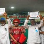 BREAKING: Governor Akeredolu Receives His Certificate of Return