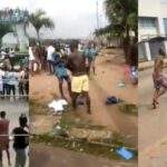 Breaking! Video: Thugs Invade Benin Prison, Free Prisoners