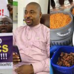 #EndSARS: Lagos Protesters Reject Food, Drinks Donated By NURTW Chief, MC Oluomo (VIDEO)