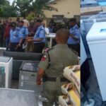 #EndSARS: Police arrest 10 suspected looters in Uyo, recover items worth millions of Naira (PHOTOS)