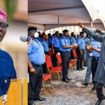 Governor Sanwo-Olu awards scholarship to children of policemen who died in Lagos violence