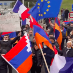 Nagorno-Karabakh: Armenians block Belgian motorways to protest escalating conflict