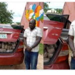 Former NDLEA staff caught with 254kg of cannabis (photos)