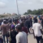 Abuja Youths Defying Ban Order, Begin #EndSARS Protest (Video)