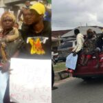 EndSARS: Drama As Protesters Storm Abeokuta With Charms (Photos)