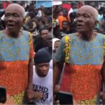 Interesting Video Shows Grandmother Speaking Passionately During #EndSARS Protest