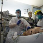 Belgian ICU will be full by 6 November if rise continues