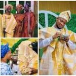 Mike Bamiloye's Daughter, Darasimi Holds Traditional Wedding With Fiance Lawrence (Photos)