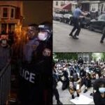 Philadelphia imposes curfew after unrest over police killing of Black man (photos)