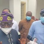 """VIDEO: """"I didn't go nowhere, I am a Lagosian, I still hold the title of Asiwaju of Lagos and I am still the JAGABAN"""" – Tinubu"""