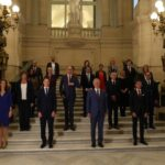 New Belgian government is sworn in by the king
