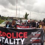 Breaking News: Drama As #EndSARS Protesters Ground Warri