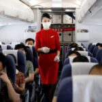 Covid-19 infection risk on airplanes very low when wearing mask, US defence study finds