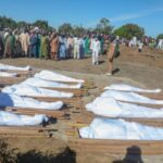 Photos From Funeral Of 43 Farmers Slaughtered By Boko Haram
