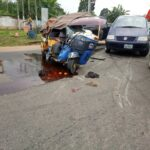 Many Injured In Multiple Accident In Umuahia, Driver Escapes Lynching (photos)