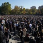 Armenians protest over Nagorno-Karabakh cease-fire deal
