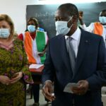 Ivory Coast President Alassane Ouattara wins re-election to third term