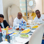 Pastor Ashimolowo Hosts Bishop Oyedepo At His Palatial Lagos Home (Photos)