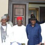2023 Presidency: APC Governors Visit Ex-President Jonathan