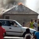 Photos: Youths Burn Down Church Over Allegations That Pastor Steals Their 'Penis'